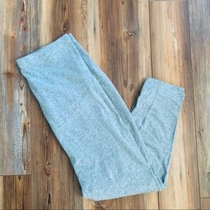 Maternity Grey Cropped Pants Sized XL
